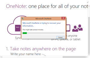 OneNote 2013 crash on startup